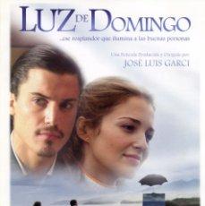Cine: LUZ DE DOMINGO (GUÍA ORIGINAL DOBLE DE SU ESTRENO) ALFREDO LANA - PAULA ECHEVARRIA - JOSE LUIS GARCI. Lote 215337298