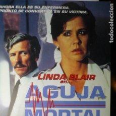 Cine: GUIA AGUJA MORTAL- LINDA BLAIR. Lote 68629833