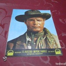 Cine: EL ROSTRO IMPENETRABLE - MARLON BRANDO - 1961. Lote 68648805