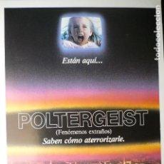 Cine: GUIA DOBLE POLTERGEIST. Lote 68714097
