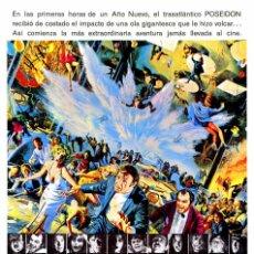 Cine: LA AVENTURA DEL POSEIDON (GUÍA ORIGINAL SIMPLE) GENE HACKMAN - ERNEST BORGNINE. Lote 83656826