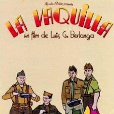 Cinéma: LA VAQUILLA (GUÍA ORIGINAL SIMPLE DE SU ESTRENO EN ESPAÑA) DIRECTOR LUIS G. BERLANGA. Lote 253923360