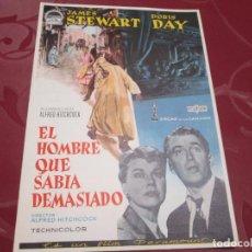 Cine: EL HOMBRE QUE SABIA DEMASIADO - JAMES STEWART - PARAMOUNT. Lote 68981077