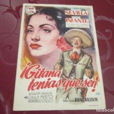Cine: GITANA TENIAS QUE SER - CARMEN SEVILLA - SUEVIA FILMS. Lote 69000633