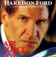 Cine: AIR FORCE ONE EL AVIÓN DEL PRESIDENTE (GUÍA ORIGINAL DOBLE CON FOTOS DE SU ESTRENO EN ESPAÑA). Lote 69518465