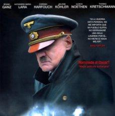 Cinema: EL HUNDIMIENTO (GUÍA ORIGINAL DOBLE CON FOTOS DE SU ESTRENO EN ESPAÑA). Lote 242904670