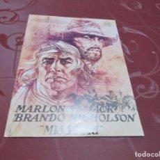Cine: MISSOURI - MARLON BRANDO - CB FILMS. Lote 69725817