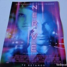 Cine: NERVE - EMMA ROBERTS, DAVE FRANCO, JULIETTE LEWIS - GUIA. Lote 69830317