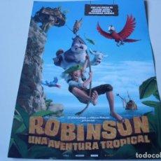 Cine: ROBINSON UNA AVENTURA TROPICAL - ANIMACION - GUIA. Lote 69840601