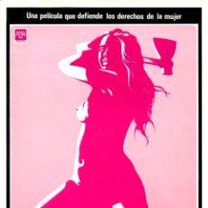 Cine: VIAJE ALREDEDOR DE LA MUJER (GUÍA ORIGINAL DOBLE 4 PÁGINAS CON FOTOS DE SU ESTRENO EN ESPAÑA). Lote 128903352