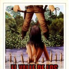 Cine: EL VALLE DE LOS MISERABLES (GUÍA ORIGINAL SIMPLE CON FOTOS DE SU ESTRENO EN ESPAÑA). Lote 70261557
