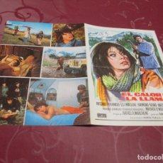 Cine: EL CALOR DE LA LLAMA - ANTONIO FERRANDIS - MUNDIAL FILM. Lote 71586551