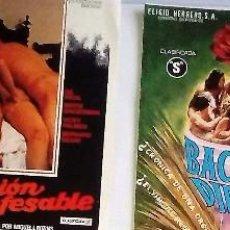 Cine: LOTE DE 4 GUIAS ORIGINALES CLASIFICADAS S AÑOS 70 VER PELICULAS EN LAS FOTOGRAFIAS. Lote 72139191