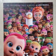 Cine: GUIA ORIGINAL -A4- CIGUEÑAS - ANIMACION - DIBUJOS ANIMADOS. Lote 73066343