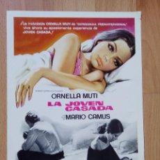 Cine: A-GUIA SIMPLE DE LA PELICULA--LA JOVEN CASADA. Lote 74256171