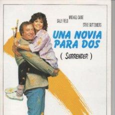 Cine: UNA NOVIA PARA DOS. Lote 75761395