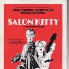 Cine: SALÓN KITTY. Lote 75761503