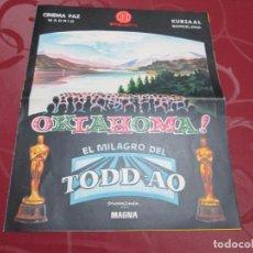 Cine: OKLAHOMA - GORDON MACRAE - HISPAMEX FILMS. Lote 75779627