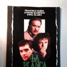 Cine: LA BLANCA PALOMA. CON: JUAN MIÑON, FRANCISCO RABAL, ANTONIO BANDERAS Y EMMA SUAREZ. Lote 76545143