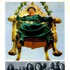 Cine: MAMA CUMPLE 100 AÑOS (GUÍA ORIGINAL SIMPLE CON FOTOS DE SU ESTRENO EN ESPAÑA) DIRECTOR CARLOS SAURA. Lote 179332830
