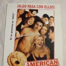 Cine: HOJA SINOPSIS FICHA ARTISTICA Y TECNICA AMERICAN PIE. Lote 77568993