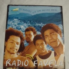 Cine: HOJA SINOPSIS FICHA ARTISTICA Y TECNICA RADIO FAVELA. Lote 77671057