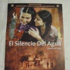Cine: HOJA SINOPSIS FICHA ARTISTICA Y TECNICA EL SILENCIO DEL AGUA . Lote 77671433