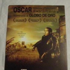 Cine: HOJA SINOPSIS FICHA ARTISTICA Y TECNICA TSOTSI. Lote 77671445