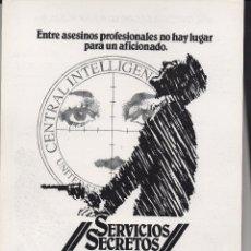 Cine: SERVICIOS SECRETOS PARALELOS. Lote 77994981