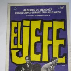 Cine: CARTEL DE CINE 20X30CM EL JEFE. Lote 78359401