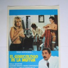 Cine: CARTEL DE CINE 20X30CM EL GINECOLOGO DE LA MUTUA. Lote 78360809