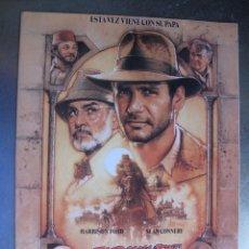 Cinema: 3910 INDIANA JONES Y LA ULTIMA CRUZADA. Lote 220353531