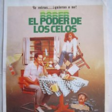 Cine: CARTEL DE CINE 20X30 EL PODER DE LOS CELOS DE KEN SHAPIRO. Lote 80315393