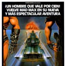 Cine: MAD MAX 2 (EL GUERRERO DE LA CARRETERA) (GUÍA ORIGINAL SIMPLE DE SU ESTRENO EN ESPAÑA) MEL GIBSON. Lote 136287609