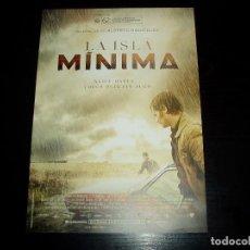 Cinema: LA ISLA MINIMA. GUIA PUBLICITARIA SENCILLA. ORIGINAL.MUY BUEN ESTADO.NUEVO.. Lote 133735777