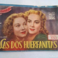 Cine: CINE - CINEVIDA - ALIDA VALLI Y MARIA DENIS - MICKEY ROONEY - LAS DOS HERMANAS - VER FOTOS. Lote 82788612