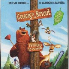 Cine: COLEGAS EN EL BOSQUE. Lote 84587168