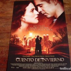 Cine: CUENTO DE INVIERNO - COLIN FARELL, RUSSEL CROWE, JENNIFER CONNELLY,WILLIAM HURT - GUIA ORIGINAL 2014. Lote 194730745