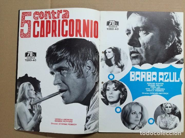 Cine: LISTA DE MATERIAL 1972.IZARO FILMS.MARCO ANTONIO ,TROSKY,BARBA AZUL,LA ISLA,KILL,LOS SECUACES... - Foto 2 - 84915732