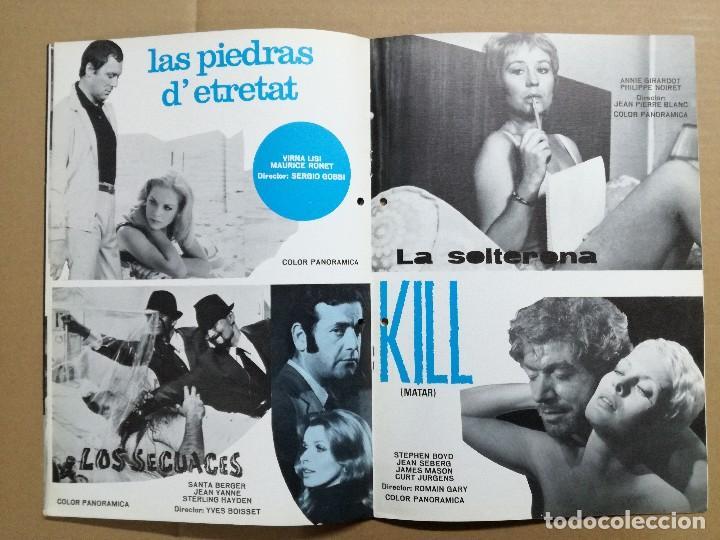 Cine: LISTA DE MATERIAL 1972.IZARO FILMS.MARCO ANTONIO ,TROSKY,BARBA AZUL,LA ISLA,KILL,LOS SECUACES... - Foto 4 - 84915732