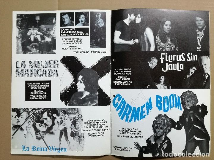 Cine: LISTA DE MATERIAL 1972.IZARO FILMS.MARCO ANTONIO ,TROSKY,BARBA AZUL,LA ISLA,KILL,LOS SECUACES... - Foto 5 - 84915732