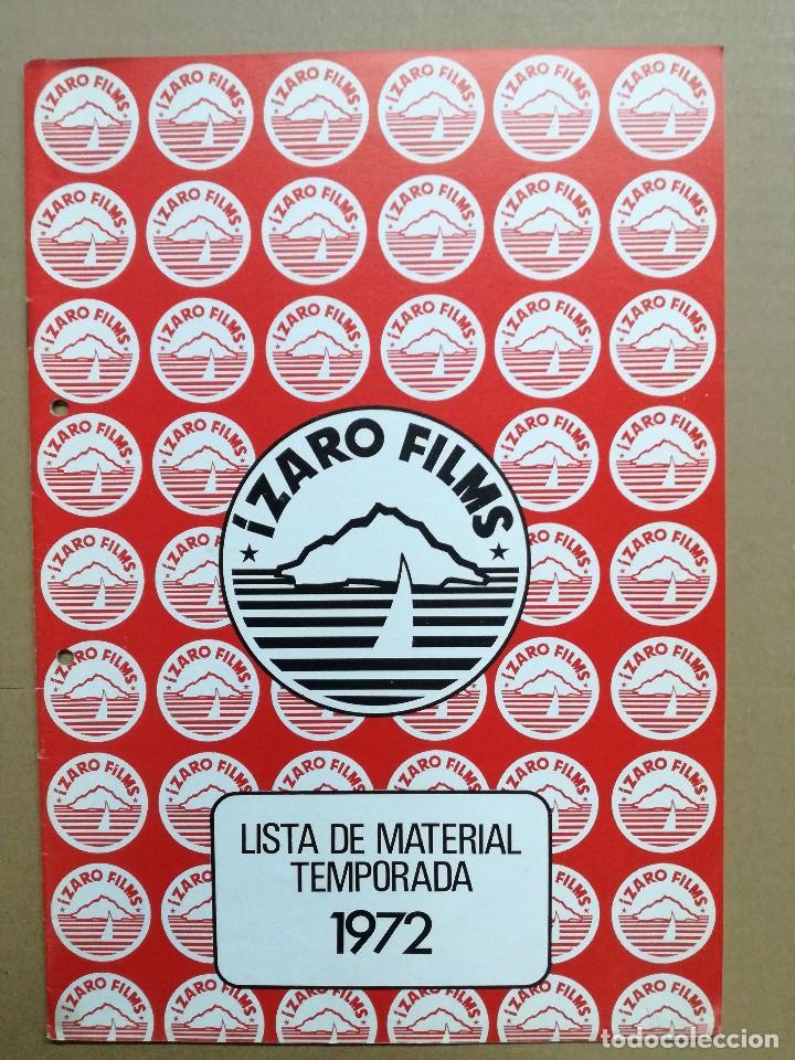 Cine: LISTA DE MATERIAL 1972.IZARO FILMS.MARCO ANTONIO ,TROSKY,BARBA AZUL,LA ISLA,KILL,LOS SECUACES... - Foto 8 - 84915732