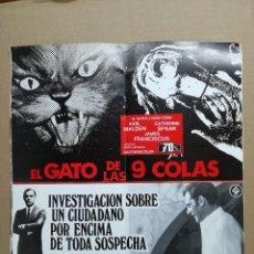 Cine: LISTA DE MATERIAL AS .1971.ANONIMO VENECIANO,MORIR DE AMOR,LOS VISITANTES DE LA NOCHE,GATO 9 COLAS... Lote 84917092