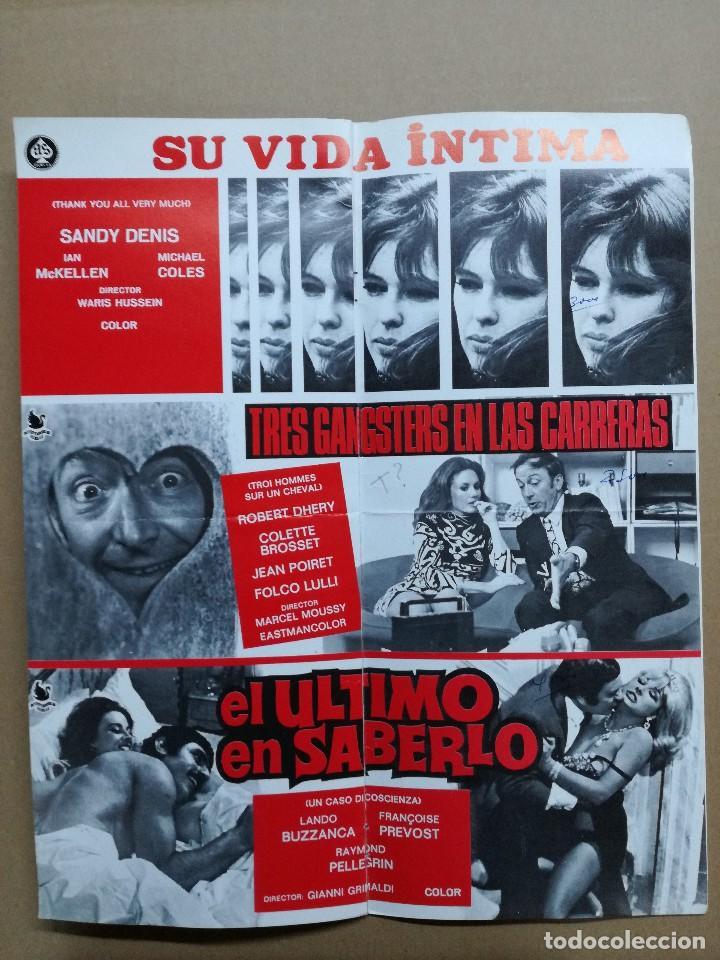 Cine: LISTA DE MATERIAL AS .1971.ANONIMO VENECIANO,MORIR DE AMOR,LOS VISITANTES DE LA NOCHE,GATO 9 COLAS.. - Foto 3 - 84917092