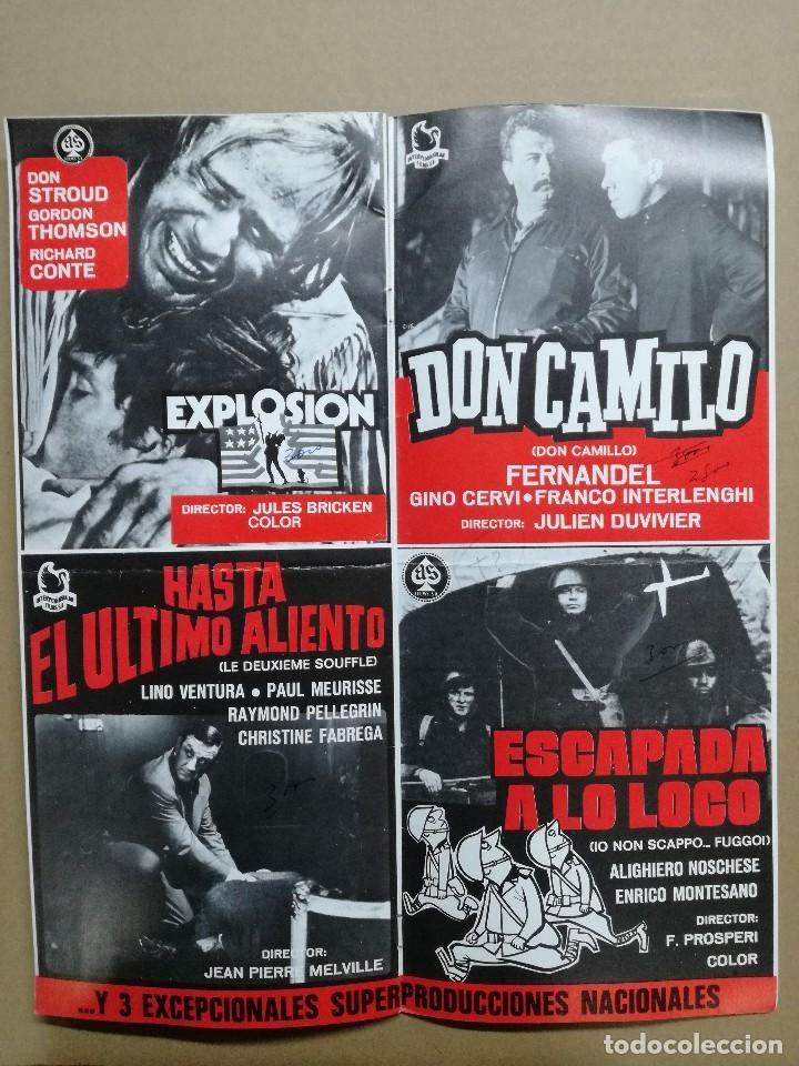 Cine: LISTA DE MATERIAL AS .1971.ANONIMO VENECIANO,MORIR DE AMOR,LOS VISITANTES DE LA NOCHE,GATO 9 COLAS.. - Foto 4 - 84917092