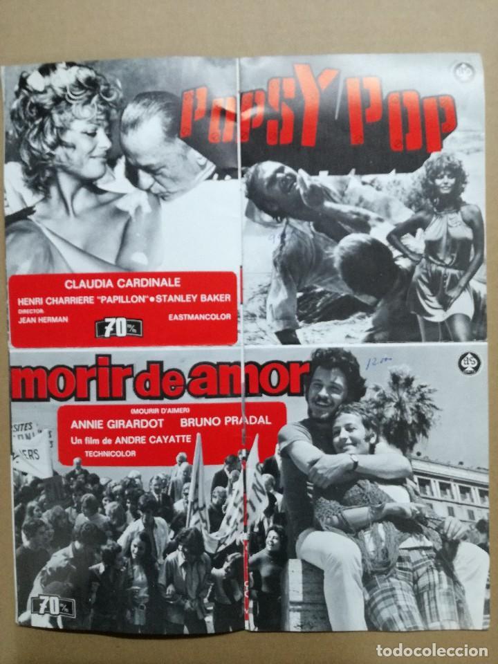 Cine: LISTA DE MATERIAL AS .1971.ANONIMO VENECIANO,MORIR DE AMOR,LOS VISITANTES DE LA NOCHE,GATO 9 COLAS.. - Foto 8 - 84917092