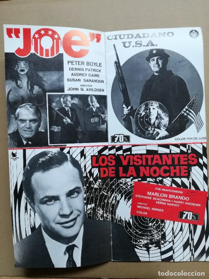 Cine: LISTA DE MATERIAL AS .1971.ANONIMO VENECIANO,MORIR DE AMOR,LOS VISITANTES DE LA NOCHE,GATO 9 COLAS.. - Foto 9 - 84917092