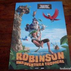 Cine: ROBINSON UNA AVENTURA TROPICAL - ANIMACION - GUIA ORIGINAL VERTICE AÑO 2016. Lote 84958104