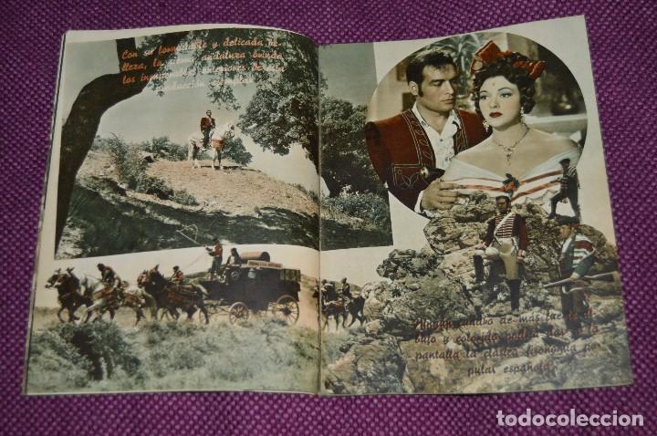 Cine: LOTE DE 6 GUÍAS PUBLICITARIAS DE PELÍCULAS ANTIGUAS - CIFESA - HUECOGRABADO FOURNIER - ¡HAZ OFERTA! - Foto 4 - 85440684