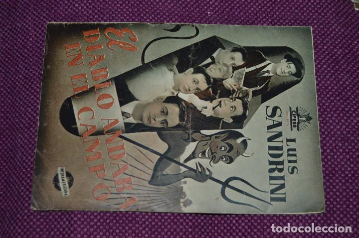 Cine: LOTE DE 6 GUÍAS PUBLICITARIAS DE PELÍCULAS ANTIGUAS - CIFESA - HUECOGRABADO FOURNIER - ¡HAZ OFERTA! - Foto 8 - 85440684